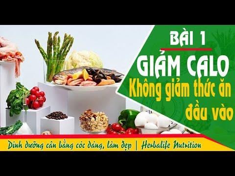 Bài 1:  Giảm Calo, không giảm thức ăn - CHẾ ĐỘ DINH DƯỠNG CÂN BẰNG VÓC DÁNG  Herbalife