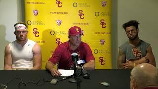 USC Football Post Game Presser - Stanford