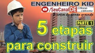 Você precisa saber: as 5 etapas para construir - Parte 01