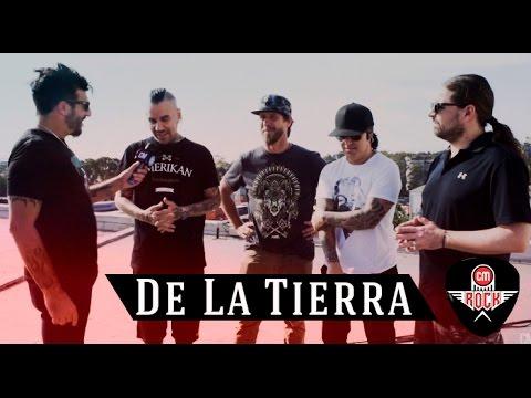 """De La Tierra - Presenta """"Puro"""" (Entrevista CM Rock 2017)"""