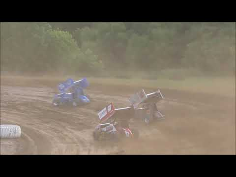 All Star Sprint Car Dash #2 from Muskingum County Speedway, June 16th, 2019.
