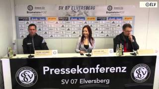 TV Elv // Pressekonferenz - SV Elversberg vs. Bahlinger SC / 13.03.16