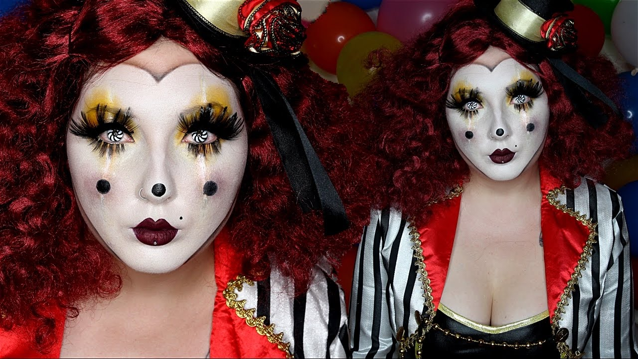 Clown mask halloween costume makeup tutorial youtube clown mask halloween costume makeup tutorial baditri Gallery