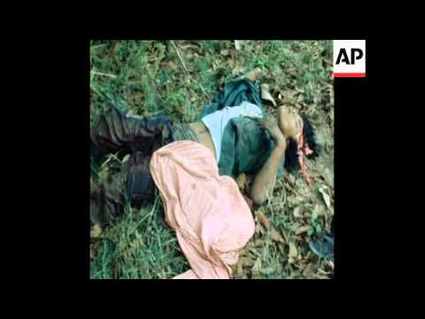 SYND 31 3 80 THAI TROOPS KILL KHMER LOOTERS