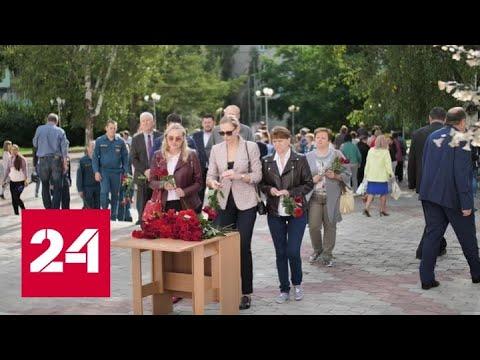 В Хакасии почтили память погибших в аварии на Саяно-Шушенской ГЭС - Россия 24