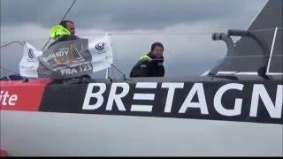 Bilan 2015 de la Filière d'excellence de course au Large Bretagne - CMB