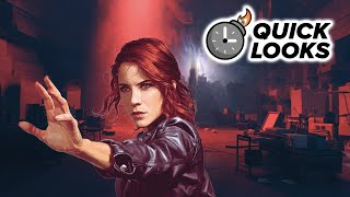 Control: Quick Look (Video Game Video Review)