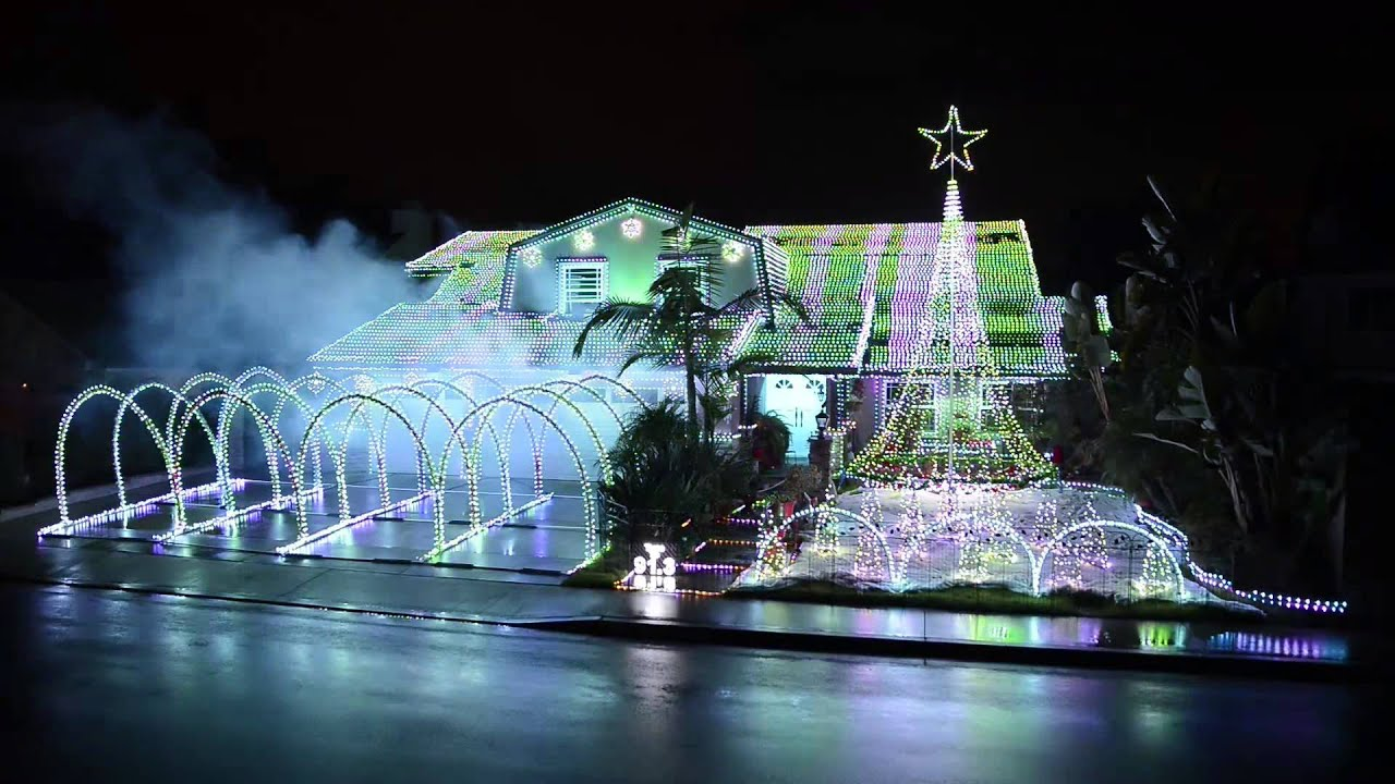 We Wish You A Merry Christmas By DJ Dobo   Fountain Valley Christmas 2012    By DeversDreamWeavers   YouTube