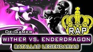 Repeat youtube video WITHER VS. ENDERDRAGON | BATALLAS LEGENDARIAS RAP