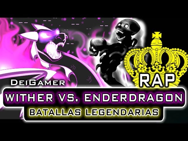 WITHER VS. ENDERDRAGON | BATALLAS LEGENDARIAS RAP Videos De Viajes