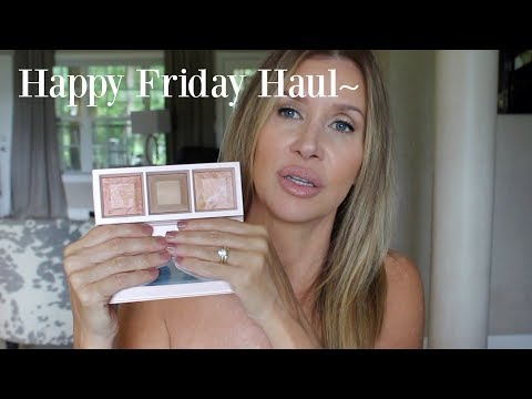 Happy Friday Haul~ Bare Minerals Free People Benefit - 동영상