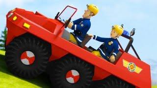 Sam el Bombero Español 🌟Cacería De Dinosaurios - Compilación de episodios 🔥 Dibujos animados
