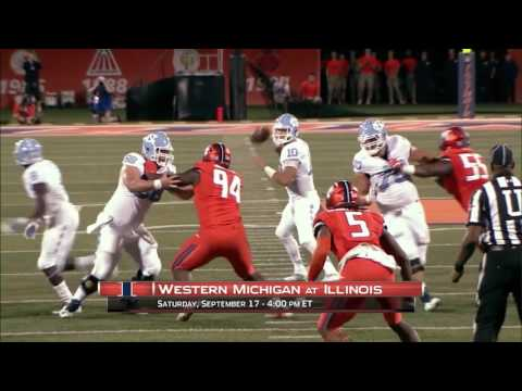 Week 3 Preview: Western Michigan at Illinois