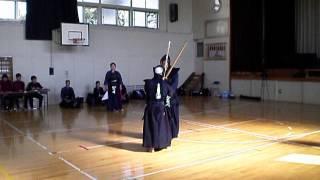 46、剣誠会石川誠さん(赤)対(白)剣誠会高本さん