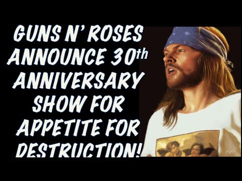 Guns N' Roses News: Private Apollo Theatre (NYC)) Concert & Sirius XM Radio Station Announced!