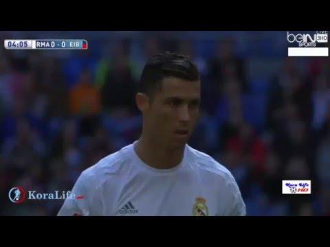 يلا شوت اهداف مباراة ريال مدريد وايبار 4 0 شاشة كاملة 09 04 2016  HD