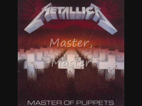 Metallica Master of Puppets Lyrics - YouTube