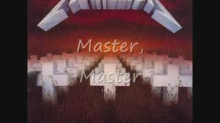 Metallica Master of Puppets Lyrics