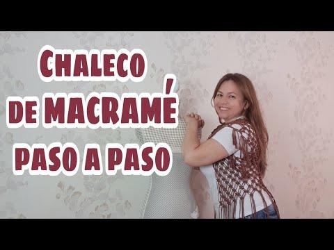 Chaleco de Macramé - Chaleco de Macramé paso a paso