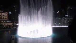 DUBAI FOUNTAINS DANCE  CON TE PARTIRO