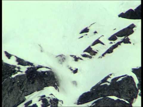 Massive Ski Crash: Anna Kanarowski (Angle 1)