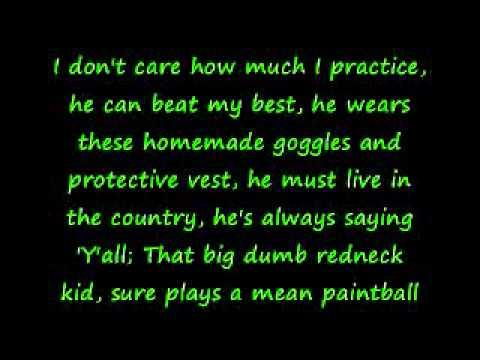 Tim Hawkins-Paintball Wizard w/Lyrics