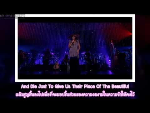 Beyonce - That's Why You're Beautiful (Eng & Thai Lyrics)