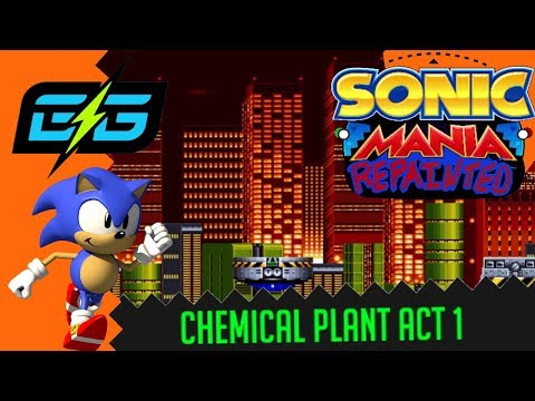 Chemical Plant Zone Act 1 - Sonic Mania Repainted OST - The Game