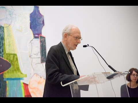 Artist Michael Simpson's speech at the John Moores Painting Prize - live Periscope