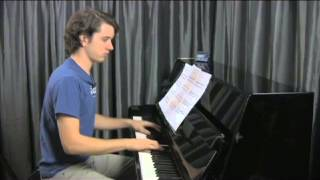 """Right Place, Wrong Time"" by Dr. John piano lesson on www.irocku.com."