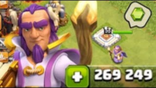 Clash of Clans Gemming Grand Warden to MAX! react live games