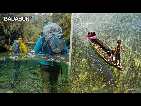 10 lugares hermosos donde el agua es transparente