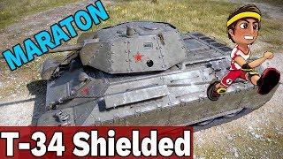 TAKA SE NAGRODA ZA MARATON - T-34 Shielded - World of Tanks