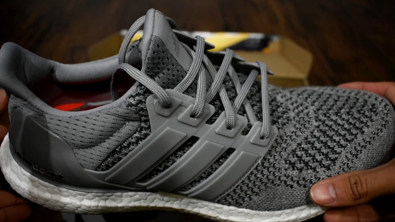 451391ee4a1 ADIDAS ULTRA BOOST SIZING! (WOOL GREY) - YouTube