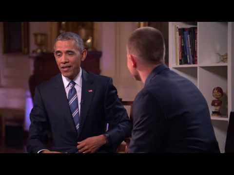 SmarterEveryDay Interviews President Obama