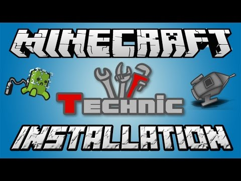Minecraft: How To Install Technic Launcher (Tekkit / AOTBT / Hexxit / Voltz)