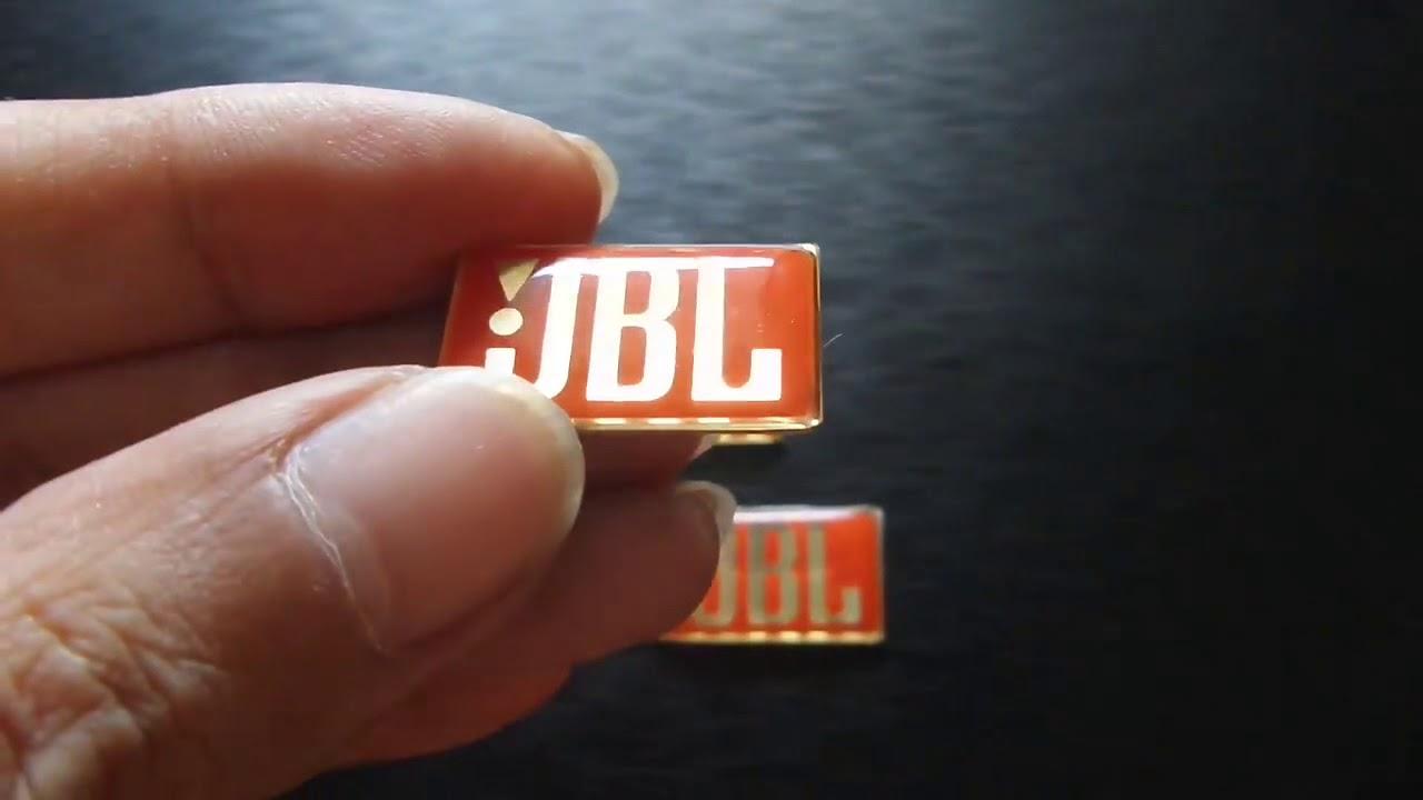 Emblem JBL Classic Badge For Logo JBL Speaker Unit