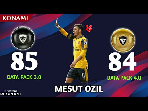 All BLACK TO GOLD DOWNGRADES IN DATA PACK 4.0   PES 2020