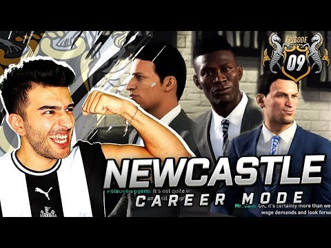 NEWCASTLE SIGNING 3 INCREDIBLE NEW PLAYERS - FIFA 19 NEWCASTLE CAREER MODE 9