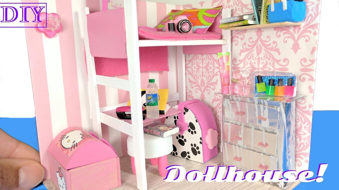 Diy Miniature Dollhouse Room For A Girl Not A Kit Diy