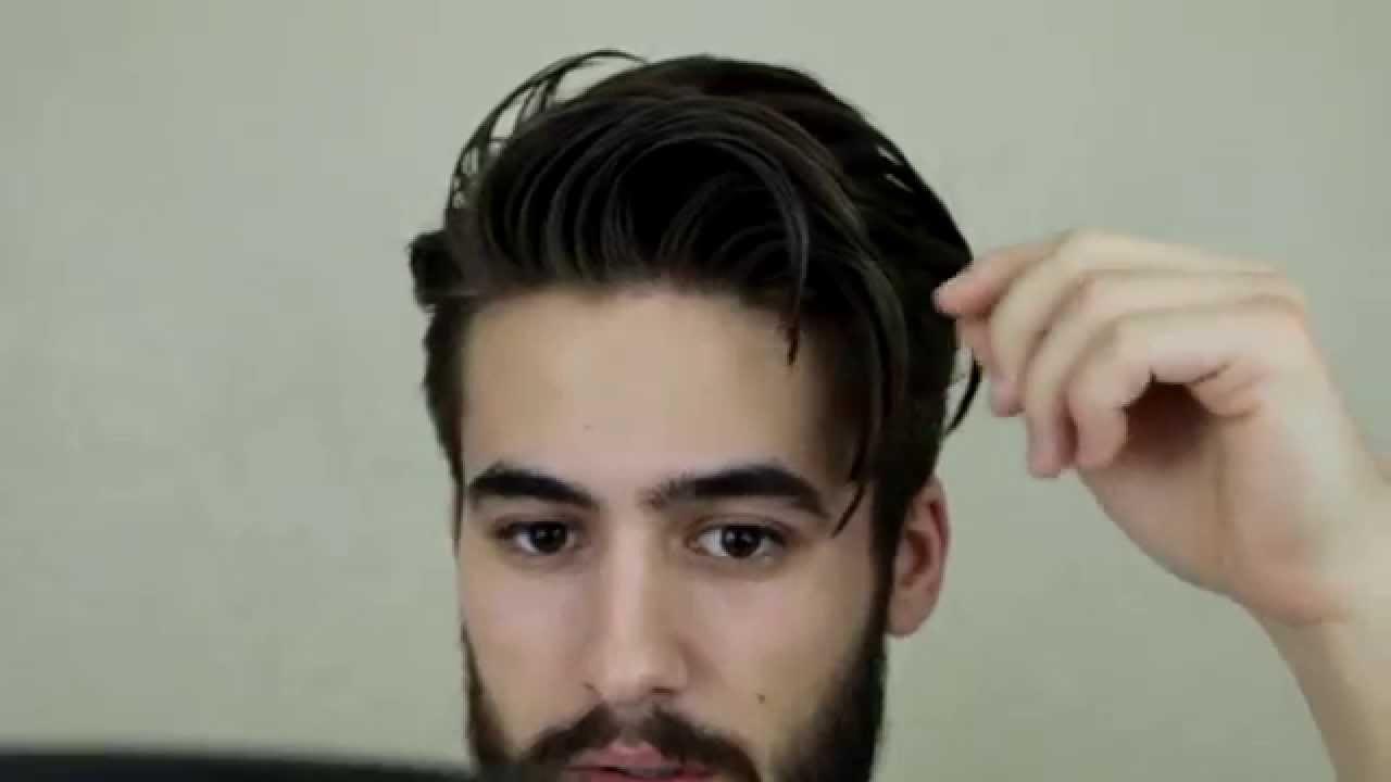 mens hair messy quick
