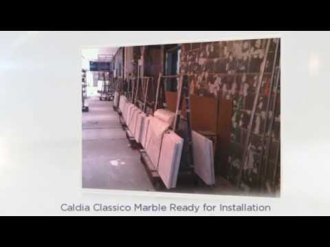Petrillo Stone - Marble Installation 1290 Avenue of the Americas