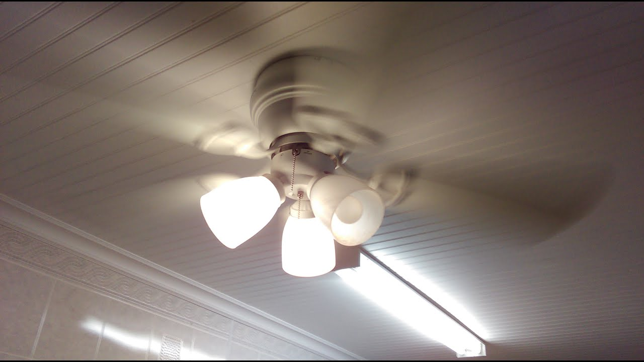 Harbor breeze cheshire ii ceiling fan youtube mozeypictures Images