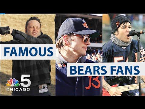 Famous Chicago Bears Fans | NBC Chicago