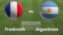 🔴LIVE: Frankreich gegen Argentinien | LIVETICKER | WM 2018 🔴