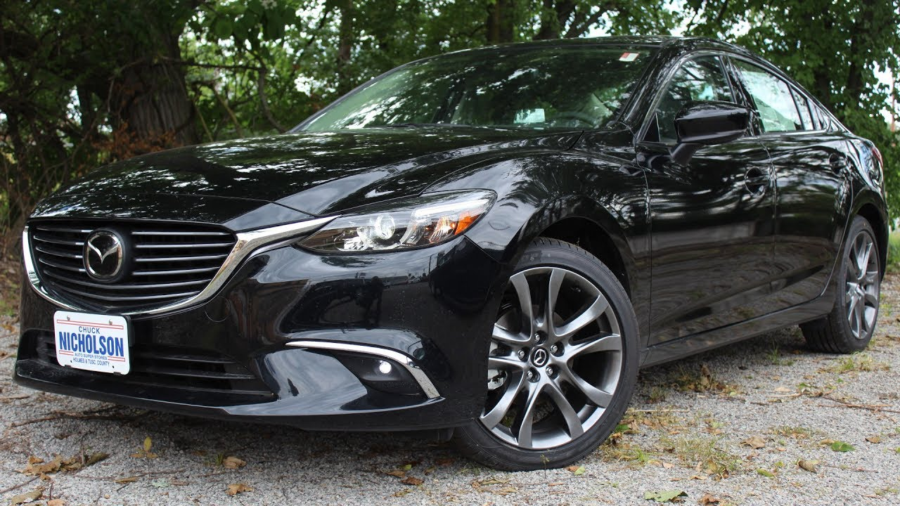 2017 mazda mazda6 grand touring review tour this sedan will amaze you youtube. Black Bedroom Furniture Sets. Home Design Ideas