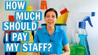 How Much Should You Pay a Cleaning Employee?