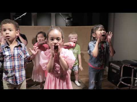 Junior Jammers Perform Larry and Joe in the Resonate Recording Studio