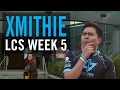 Xmithie on rookie junglers getting the spotlight, why his girlfriend isn't ruining the LCS