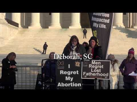 Deborah's 2019 March for Life Testimony